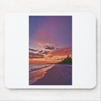 Fort Myers Beach Sunset Mouse Pad