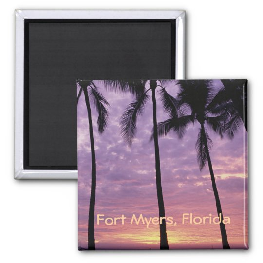 Fort Myers, Florida Photo Souvenir Fridge Magnet