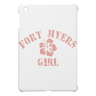 Fort Myers Pink Girl Case For The iPad Mini