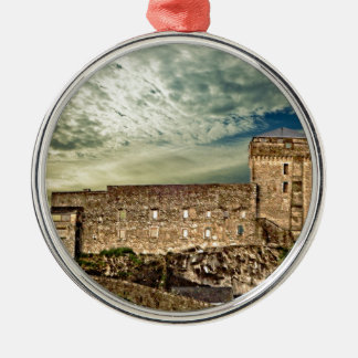 Fort on the hill christmas ornament