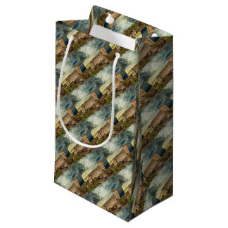 Fort on the hill small gift bag