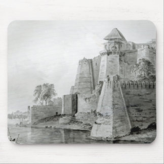 Fort on the Yamuna River, India Mouse Pad