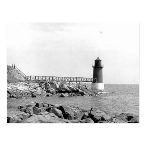 Fort Pickering Lighthouse Post Card