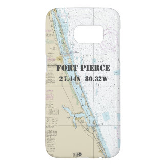 Fort Pierce FL Latitude Longitude Nautical Chart