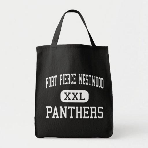 Fort Pierce Westwood - Panthers - Fort Pierce Canvas Bag