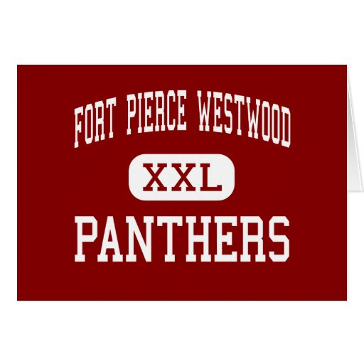 Fort Pierce Westwood - Panthers - Fort Pierce Greeting Cards