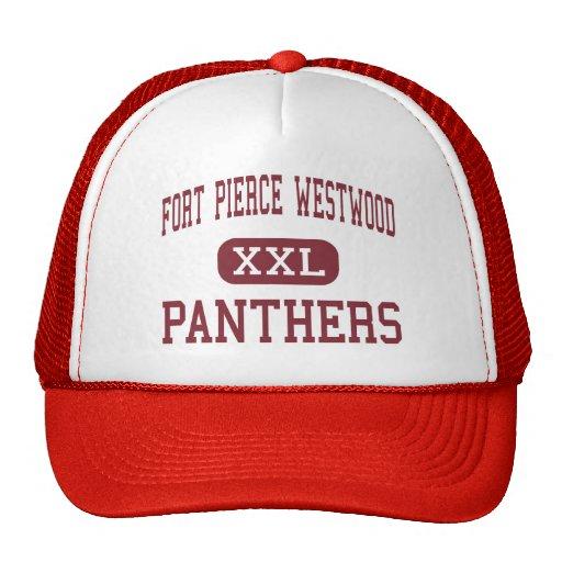 Fort Pierce Westwood - Panthers - Fort Pierce Trucker Hat