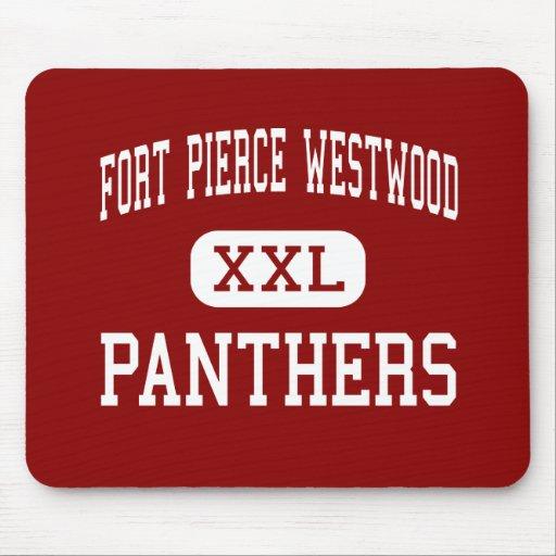 Fort Pierce Westwood - Panthers - Fort Pierce Mouse Mat