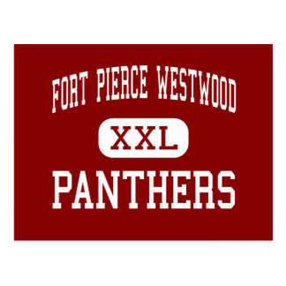 Fort Pierce Westwood - Panthers - Fort Pierce Post Cards