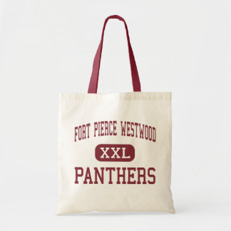 Fort Pierce Westwood - Panthers - Fort Pierce Budget Tote Bag