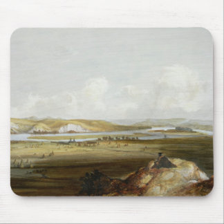 Fort Pierre on the Missouri, plate 10 from Volume Mouse Pad