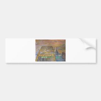 Fort Pitt JPG Bumper Sticker