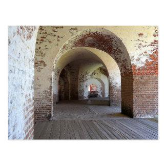 Fort Pulaski Hall Postcard