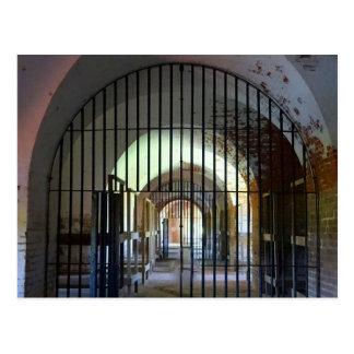 Fort Pulaski Jail Postcard