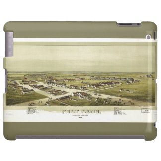 Fort Reno, Oklahoma Territory (1891) iPad Case