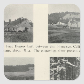 Fort Ross, California Square Sticker