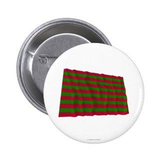 Fort Sackville Waving Flag 6 Cm Round Badge