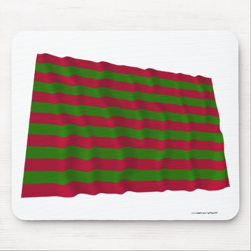 Fort Sackville Waving Flag Mouse Pads
