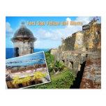 Fort San Felipe del Morro, Puerto Rico Postcards