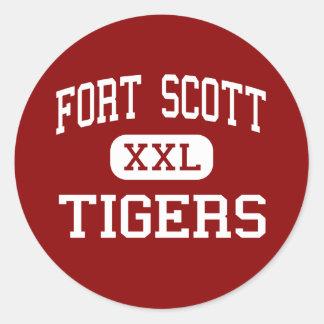 Fort Scott - Tigers - High - Fort Scott Kansas Sticker