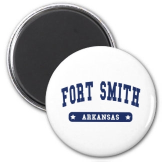 Fort Smith Arkansas College Style tee shirts Magnet