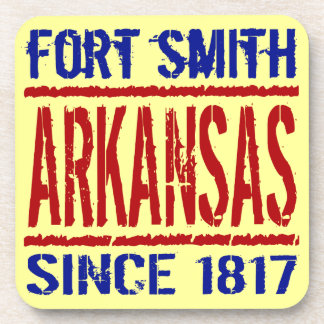 Fort Smith Arkansas Since 1817 Beverage Coasters