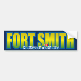 Fort Smith Bumper Car Bumper Sticker
