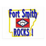 Fort Smith Rocks ! (blue) Postcard