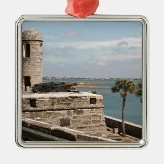 Fort, St Augustine, Florida, USA Christmas Ornament