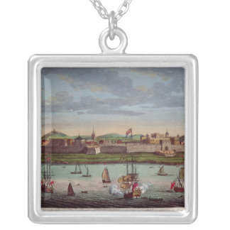 Fort St. George, Coromandel Coast, India Silver Plated Necklace