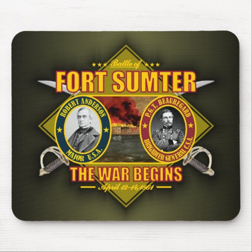 Fort Sumter Mouse Pad