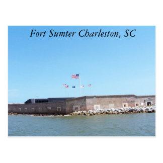 Fort Sumter Postcard