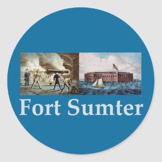 Fort Sumter Stickers