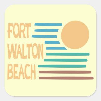Fort Walton Beach geometric design Stickers