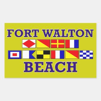Fort Walton Beach Square Sticker