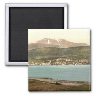 Fort William and Ben Nevis, Inverness, Scotland Magnet