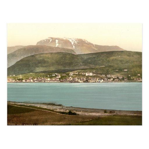 Fort William and Ben Nevis, Inverness, Scotland Postcards