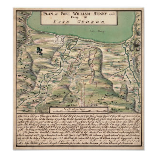 Fort William Henry Print