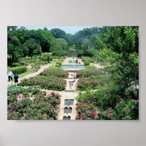 Fort Worth Botanical Gardens Print