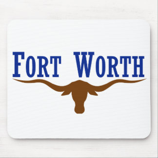 Fort Worth Flag Mouse Pad