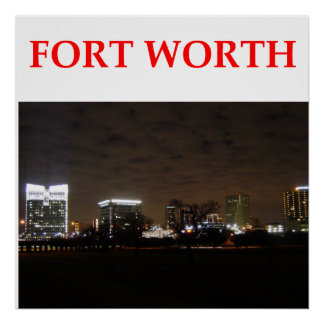 fort worth posters