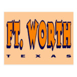 FORT WORTH, TEXAS POST CARD