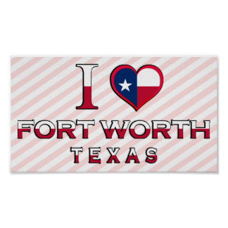 Fort Worth, Texas Print