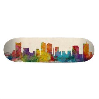 Fort Worth Texas Skyline Custom Skateboard