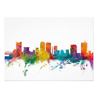Fort Worth Texas Skyline Custom Announcements