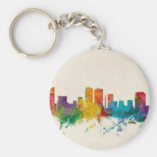 Fort Worth Texas Skyline Keychains