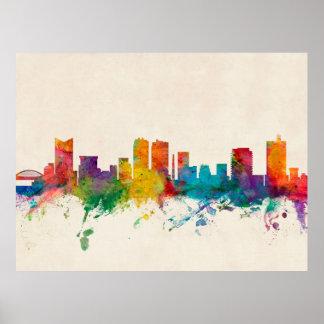 Fort Worth Texas Skyline Print