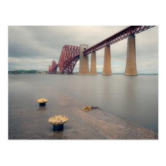 Forth Bridge Long Exposure Postcard