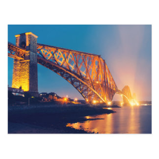 Forth Bridge North Queensferry Postcard