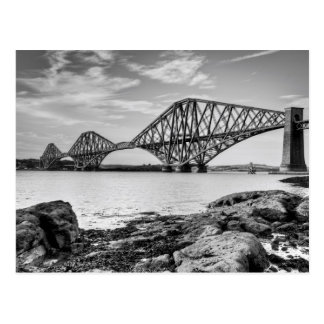 Forth Bridge, Scotland Postcard